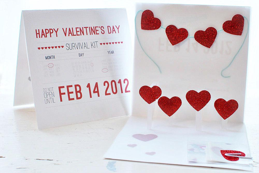 Valentine S Day Card Kit Honeysuckle Life